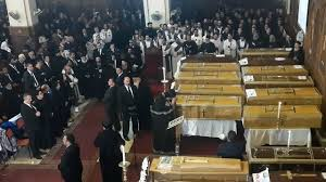 Coptic Church caskets